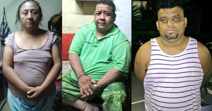 Capturan a delincuentes que dedicaban al contrabando de droga en diferentes zonas de San Salvador