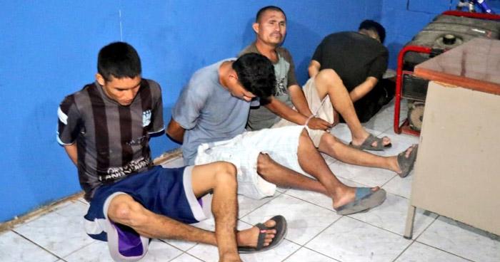 Capturan 130 pandilleros vinculados a 52 homicidios