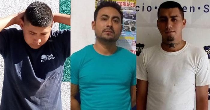 Capturan a pandilleros que dispararon en contra de policías en San Miguel