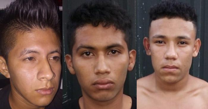 Homicidas capturados en Zacatecoluca y La Libertad