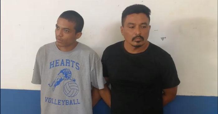 Arrestan en Morazán a sujetos acusados de 5 delitos