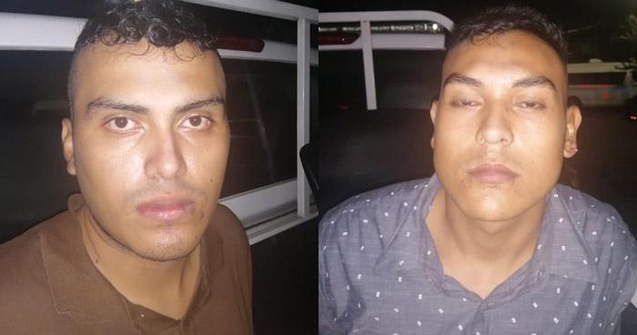 Capturados tras robar un celular en San Salvador