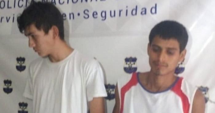 Capturan a traficantes de droga en diferentes puntos de San Miguel