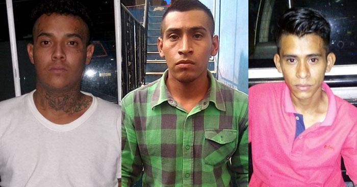 Capturan a sujetos que se dedicaban a extorsionar y comercializar droga en San Salvador