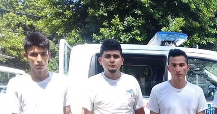 Capturan a pandilleros y les incautan droga en Sonsonate