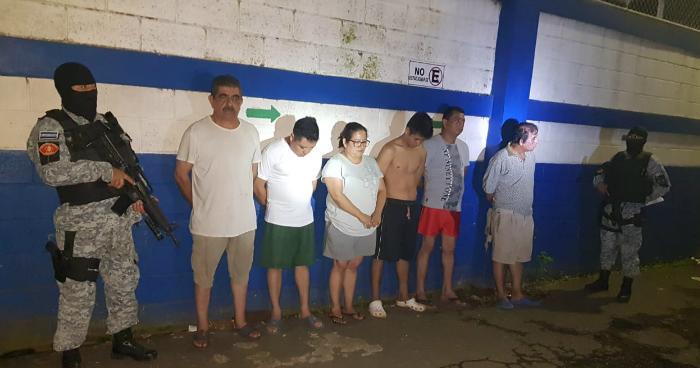 Capturan a abogados, notarios y contadores por delitos patrimoniales en Sonsonate