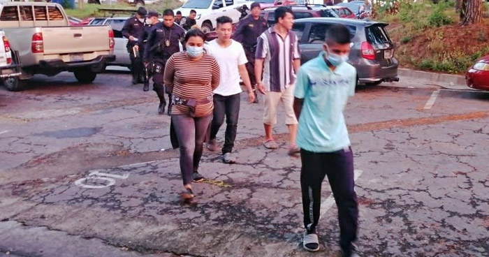 Capturan a más de 20 delincuentes que operaban en Soyapango