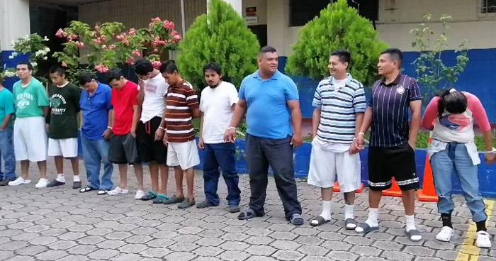 Más de 20 capturados durante operativo en Soyapango