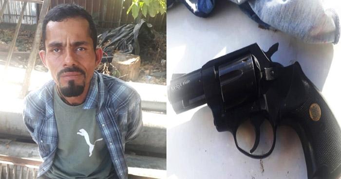 Arrestado por portar un arma de fuego ilegal