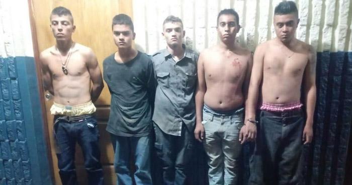 Capturan a pandilleros armados que delinquían en San Martín