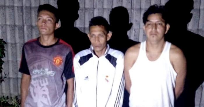 Hondureño capturado cuando se encontraba reunido con pandilleros en Tonacatepeque