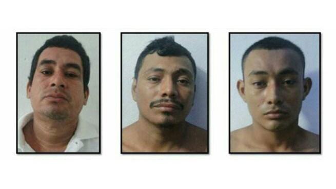 Arrestan a cinco sujetos e incautan armas de fuego y una motocicleta en Usulután