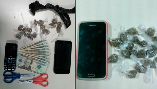 Capturan a dos sujetos en San Vicente cuando se disponían a distribuir droga