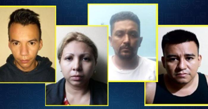 A prisión, cuatro personas sospechosas de haber secuestrado a una niña y su madre en San Salvador