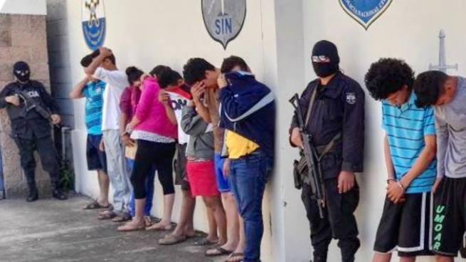 Giran orden de captura contra más de 30 pandilleros en San Vicente y Sonsonate