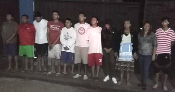 Más 10 capturados durante operativo en Ilobasco