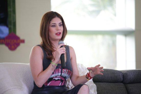 """Carolina Padrón: """"El periodista vive de los momentos en vivo"""""""