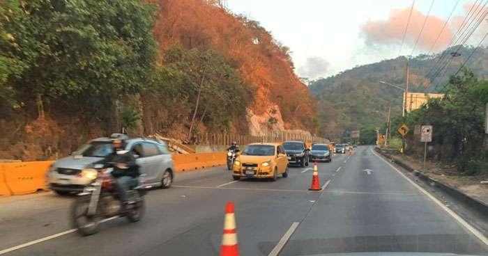 Nuevos horarios para circular por la carretera Los Chorros