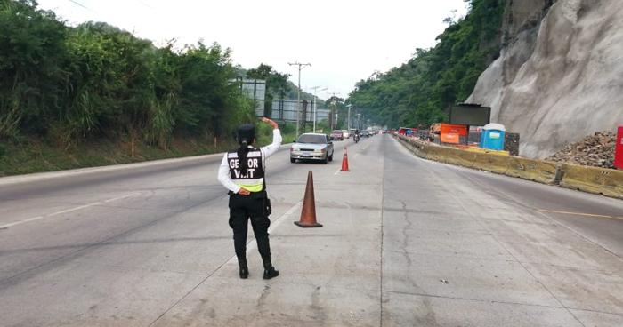 Cambian horarios de circulación sobre carretera Los Chorros durante vacación de Agosto