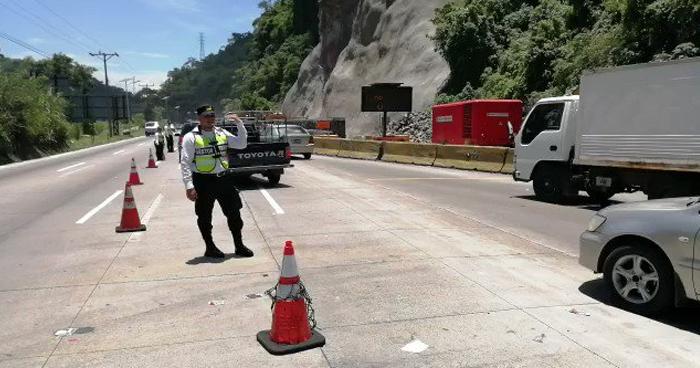 Nuevos horarios de circulación sobre carretera Los Chorros