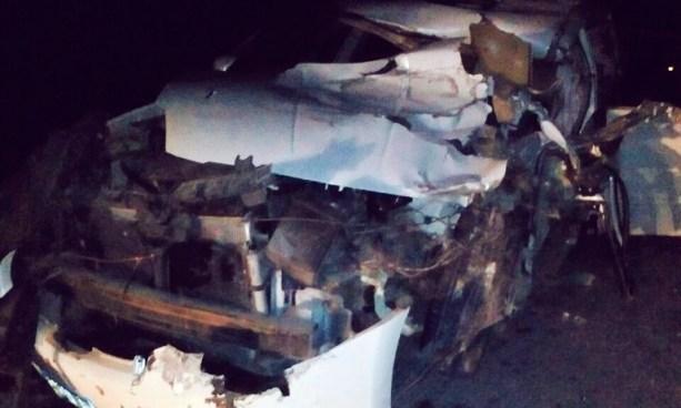 Dos fallecidos y dos lesionados tras accidente de transito en la Carretera Ruta Militar, en Morazan