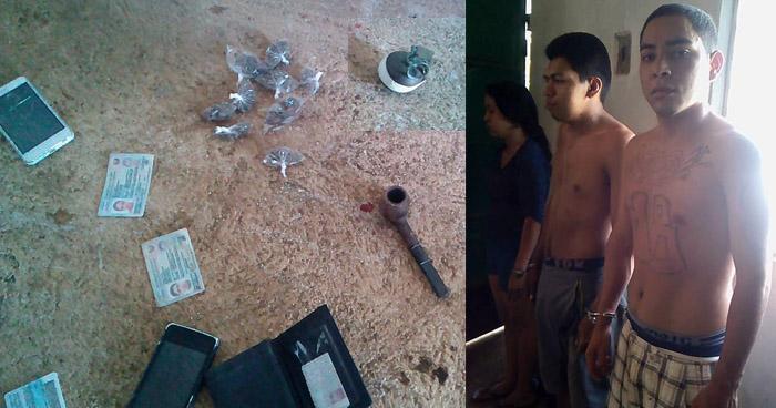 Incautan granada a pandilleros que se refugiaban en una casa destroyer en Ahuachapán