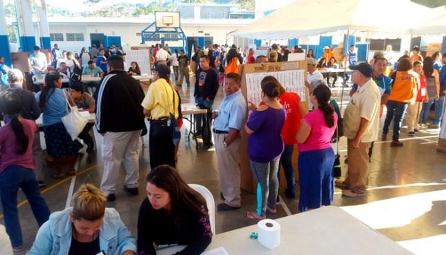 Ciudadanos capacitados para formar parte de JRV quedan fuera de las mesas electorales
