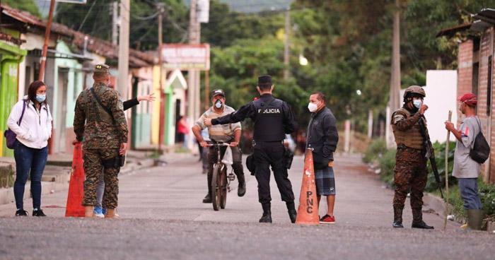 Instalan cerco sanitario en Chalchuapa tras detectarse 110 nuevos casos de COVID-19