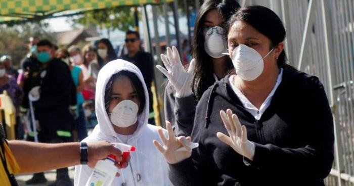 Violación de cuarentena dispara contagios de COVID-19 en Chile