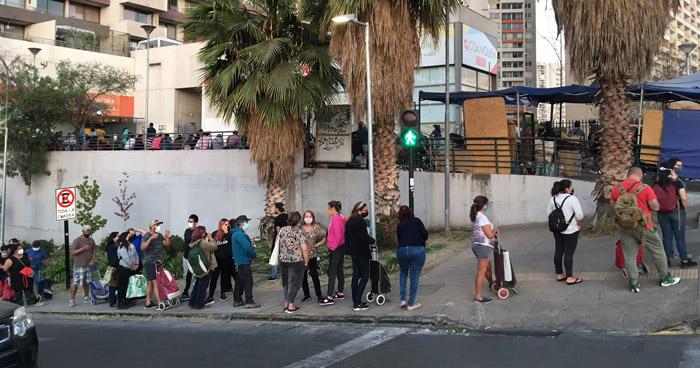 Cuarentena obligatoria en toda la capital de Chile