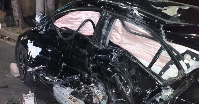 Conductor ebrio provoca accidente y deja 7 lesionados en San Salvador