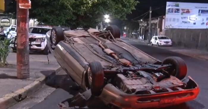 Conductores ebrios involucrados en accidentes de tránsito registrados anoche en San Salvador