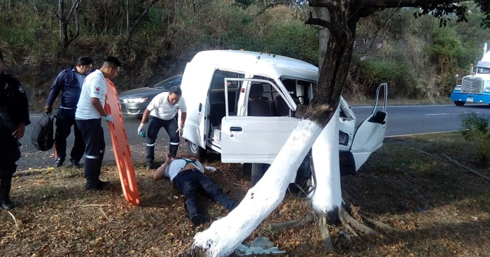 Dos lesionados tras accidentes de tránsito en Cuscatlán