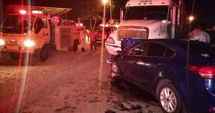 Doctora salvadoreña muere en aparatoso accidente en Honduras