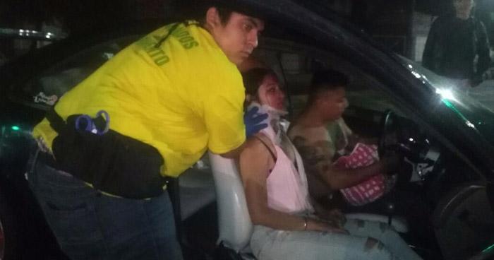 Conductor ebrio provoca accidente de tránsito y deja a 5 lesionados en San Salvador