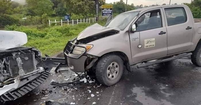 Un fallecido y 4 lesionados tras aparatoso accidente en Usulután