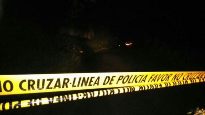 Asesinan a un hombre en Santa Cruz Michapa y dejan una nota cerca del cadaver