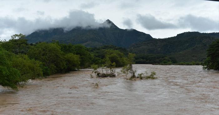 Probabilidad de lluvias con énfasis en la franja central y norte del país