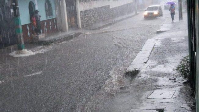 Siguen las lluvias en el territorio nacional