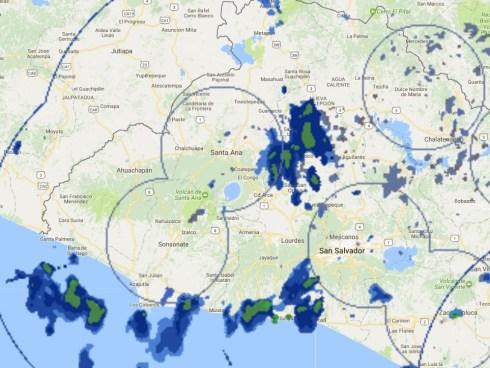 Posibilidad de tormentas con actividad eléctrica sobre el territorio Nacional