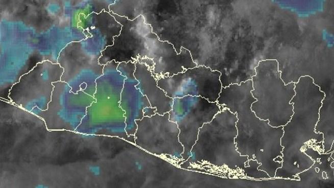 Se esperan lluvias y tormentas fuertes principalmente en la zona oriental y para-central