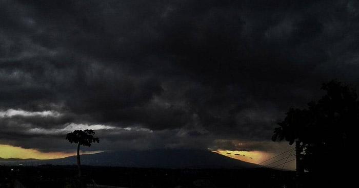 Acercamiento de vaguada generará tormentas dispersas, por la tarde y noche, sobre el territorio