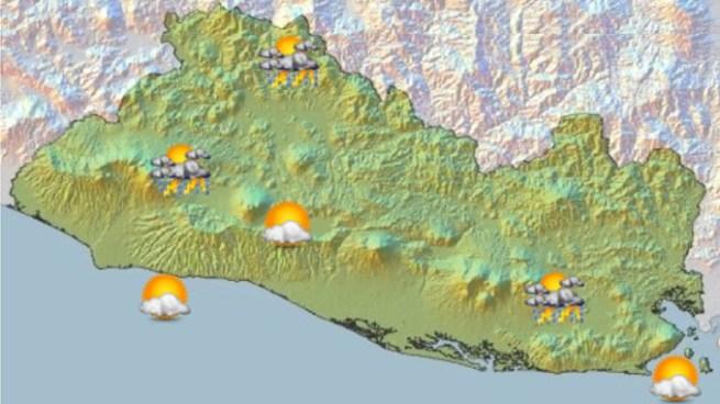 Probabilidad de lluvias con actividad eléctrica por desplazamiento de una Vaguada