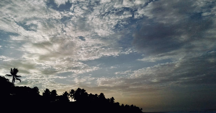 Onda Tropical favorecerá probabilidad de lluvias con actividad eléctrica a finales de la tarde y noche