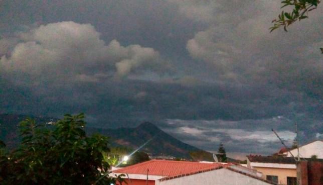 Probabilidad de lluvias y chubascos aislados en el norte del país en horas de la tarde