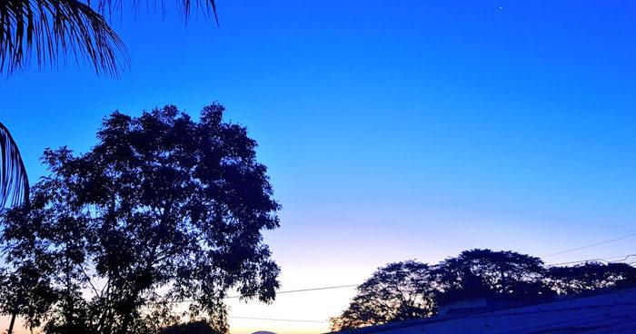 Las temperaturas cálidas en horas diurnas y ambiente fresco en horas nocturnas. El cielo estará despejado