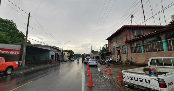 Probabilidad de lluvias débiles principalmente en la zona occidental del país