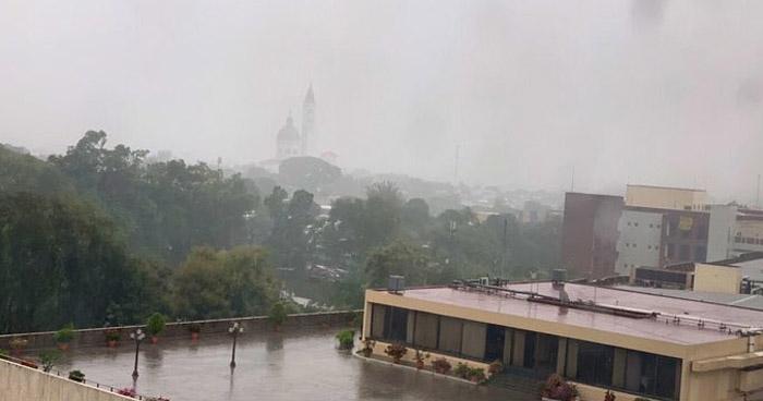 Continuarán lluvias tipo temporal con actividad eléctrica en territorio nacional