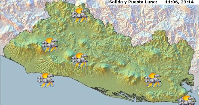 Probabilidad de lluvias por desplazamiento de una Onda Tropical