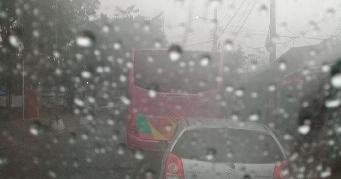 Se esperan lluvias y chubascos con énfasis en la franja norte y oriental del país